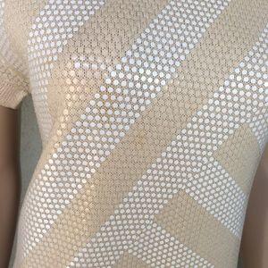 St. John Dresses - Vintage Mod 60s St. John beige dress size 8